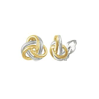Eternal Collection Entwined Two Tone Gold Classic Knot Stud Clip On Earrings Eternal Collection Entwined Two Tone Gold Classic Knot Stud Clip On Earrings Eternal Collection Entwined Two Tone Gold Classic Knot Stud Clip On Earrings Eternal Collection