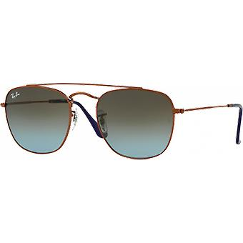 Ray-Ban RB3557 Bronze Copper Blue Degraded Brown