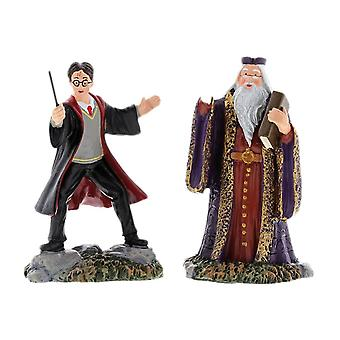 Harry Potter Harry and The Headmaster Figurine