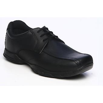 Term Boys Vinny School Shoes Black
