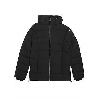 Moose Knuckles Junior Black Unisex Puffa Jacket