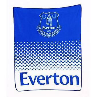 Everton FC Fade Fleece Coperta