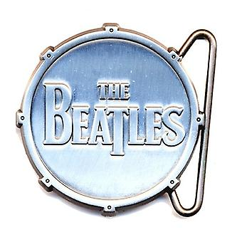 The Beatles Belt Buckle Classic Drop T Drum Logo new Official Metal