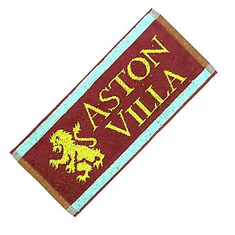 Aston Villa FC Old Style Lion bomull bar håndkle (PP)