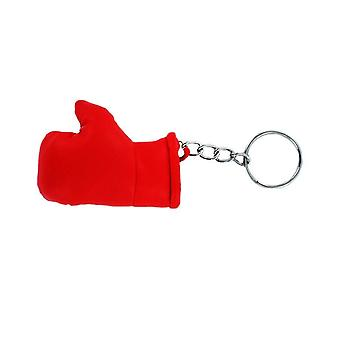 Cle Cles Keys Red Flag United Red Rosso Boxing Glove Flag Keychain