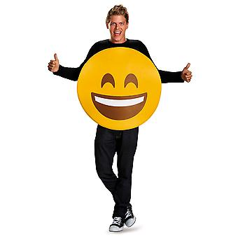 Smile Wink Emoticons Smiling Face Smiley Emoji Unisex Womens Mens Costume