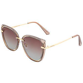 بيرثا رايلي النظارات الشمسية المستقطبة -- براون / براون