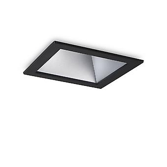 Ideale Lux Gioco LED 1 Luce recessed Spotlight Nero IDL192390