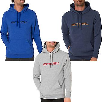 Animal Mens Luna Hooded Pullover Sweatshirt Hoodie Hoody Top