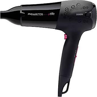 Rowenta Powerline Elite Hair dryer Black, Pink