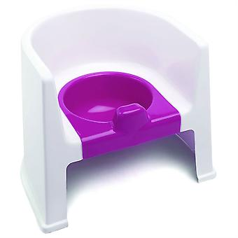The Neat Nursery Co Potty Chair White / Pink