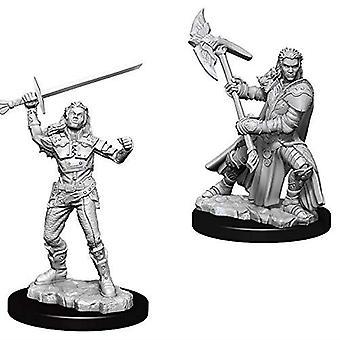 D&D Nolzur's Marvelous Unpainted Miniatures Female Half-Orc Fighter (Pack of 6)