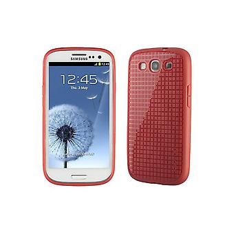 Speck Pixelskin HD Rubberized Cell Phone Case for Samsung Galaxy S3 - Coral
