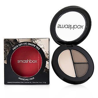 Smashbox Photo Edit Eye Shadow Trio - # Nudie Pic Fair (grey Bae Hang Barre It All) - 3.2g/0.11oz