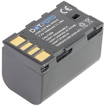 Dot.Foto JVC BN-VF815, BN-VF815U sostituzione della batteria - 7.4 v / 1500mAh