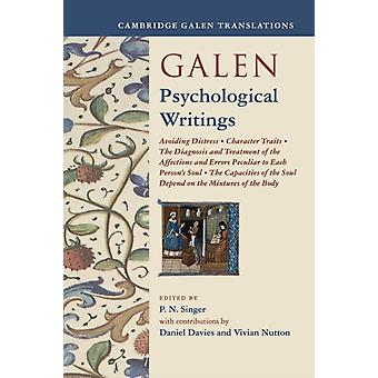 Galen Psychological Writings par Singer et P. N.
