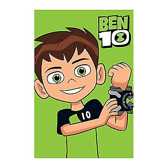 Ben 10 Hero Fleece Pătură