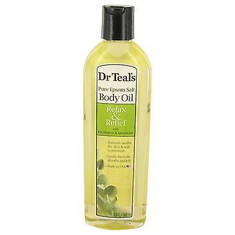 Dr teal& apos;s kylpy lisäaine eukalyptus öljy puhdas Epson suolaa kehon öljy rentoutua ja helpotusta eukalyptus & spearmint mennessä dr teal's 534554 260 ml