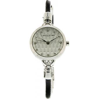 Lancaster watch watches SOPRANO LPW00395 - watch leather black woman SOPRANO