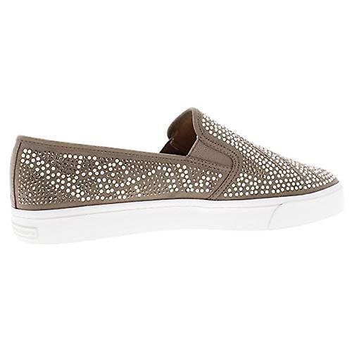 INC Womens Sammee 11 Embellished Pattern Slip-On Sneakers