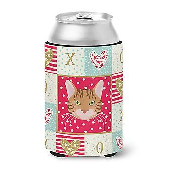 Carolines Treasures  CK5089CC Bengal Cat Love Can or Bottle Hugger