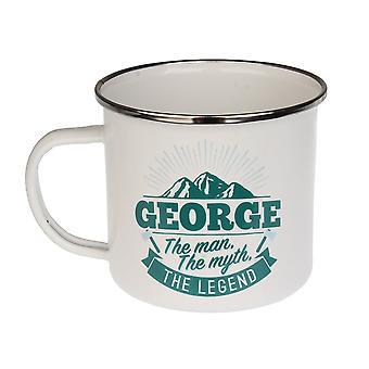 Histoire et Héraldique George Tin Mug 44