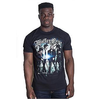 Motley Crue gruppfoto Tommy Lee Vince Neil officiell T-shirt