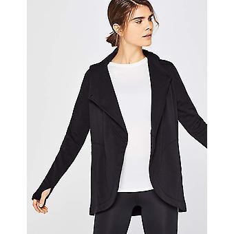 AURIQUE Women's Wrap, Black, 14 (size: Large)