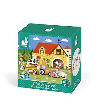 ميني جند قصة المزرعة لعبة خشبية 3-6 سنوات