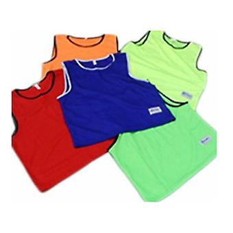 Morgan Sports Training Singlet Fluro Green