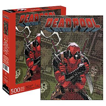 Marvel - deadpool cover 500pc puzzle