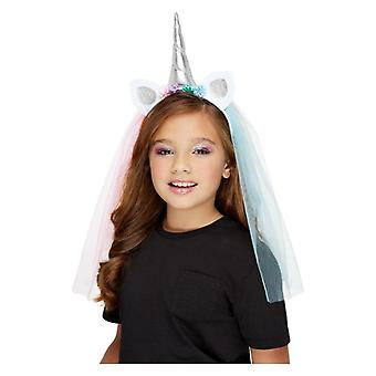 Filles Unicorn Headband Fancy Dress Accessoire