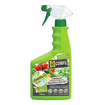 COMPO Nativert® Herbs & Vegetables aphid-free AF, 750 ml