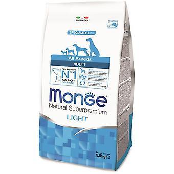 Monge Ns Adult  Light Salmon And Rice (Dogs , Dog Food , Dry Food)