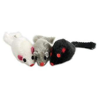 Pawise Cube Toys Cats Mice Plush (Katten , Speelgoed , Muizen)