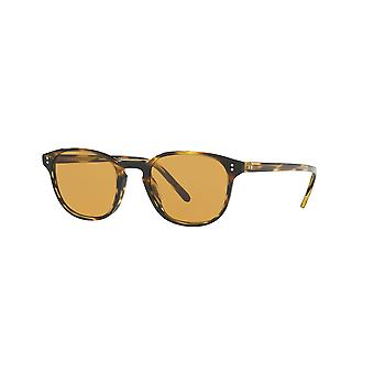 Oliver Peoples Fairmont Cocobolo/Champagne Photochromic Sunglasses