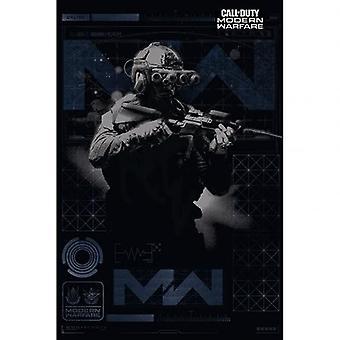 Call Of Duty Modern Warfare Poster Elite 171