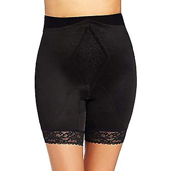 Rago Women's Plus-Size Hi Waist Long Leg Shaper, Black,, Black, Size 3.0