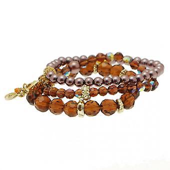 Nour London Women's Bead And Charm Detail Bracelet