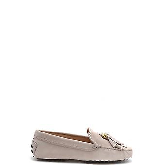 Tod's Ezbc025093 Women's Pink Suede Loafers