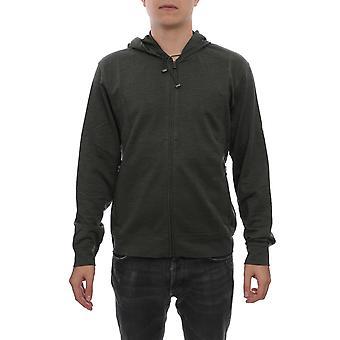 Corneliani 84g5649825053050 Men's Grey Wool Sweatshirt
