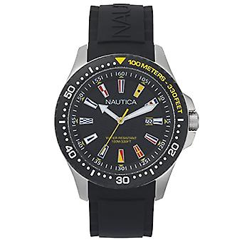 Nautica Analogueico Watch quartz men with Silicone strap NAPJBC003
