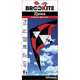 Brookite 3474 Harrier Dual Line Sports Kite - 74 x 150 cm