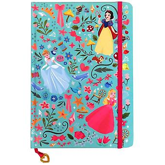 Disney Princess True A5 Notebook with Pink Strap and Heart Charm