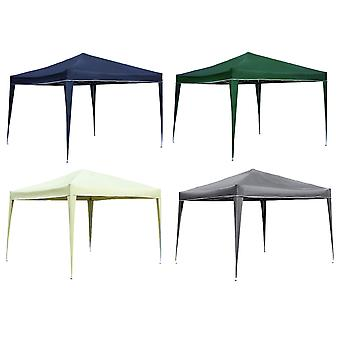 Charles Bentley Foldable Pop Up Gazebo Marquee Zelt für Camping/BBQ-Dusche Resistant Canopy in 4 Farben-3X3M