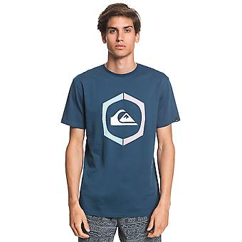 Quiksilver Men's T-Shirt ~ Sure Thing marine