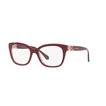 Bvlgari BV4172B 5469 Top Bordeaux sur les lunettes rouges Transp