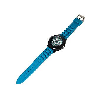 Henley Glamour Ladies Bling Turquoise Sport Strap Watch