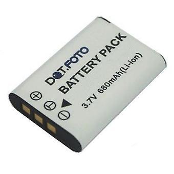 Dot.Foto Olympus batteria di ricambio LI-60B - 3.7 v / 680mAh - Olympus C-575, FE-370, X-880