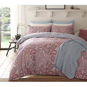 Paisley Purple Bedding Set